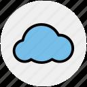 cloud, data, i cloud, rain cloud, weather icon