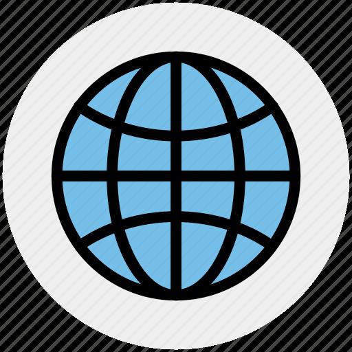 earth, global, international, map, planet, world icon