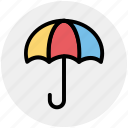 insurance, protection, rain, rainy, summer, umbrella icon