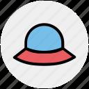 classic, hat, head dress, lady hat, wear, woman, woman hat icon