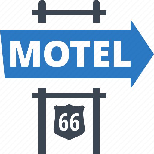 accommodation, motel, travel icon