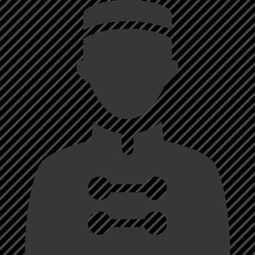 bellboy, bellhop, hotel services icon