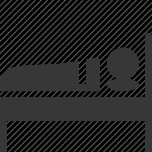 accommodation, bed, motel, spleeping icon