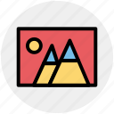 galley, image, photo, photograph, picture icon