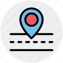 map, navigation, road, road map icon