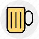 alcohol, ale, beer, beverage, cup, mug icon