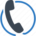 call, customer services, customer support, help icon