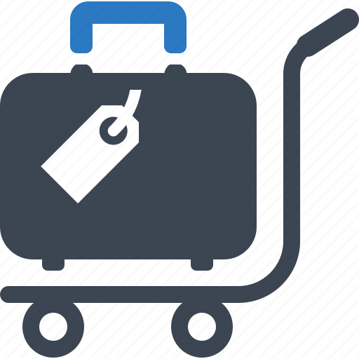 luggage, suitcase, travel icon
