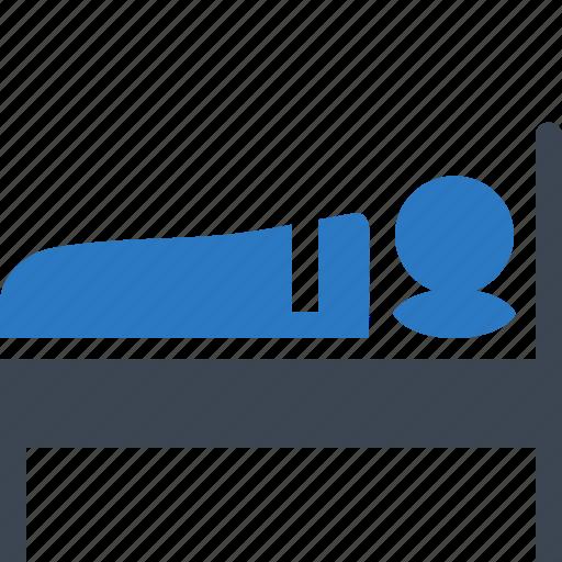 bed, motel, sleep icon