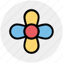 creative flower, flower, flower design, nature icon