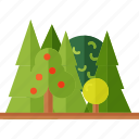 camping, forest, nature, tourism icon