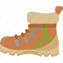 boots, camping, footwear, hiking icon