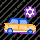 car, equipment, gear