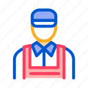 auto, car, garage, repairman, service, vehicle, workshop icon