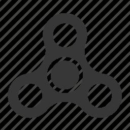 bauble, fidget, fidget spinner, game, plaything, spinner, toy icon