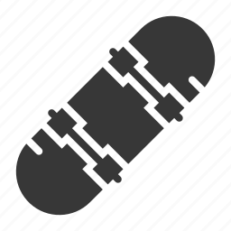 bauble, game, plaything, skateboard, toy icon