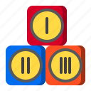 block, game, kid, play, sport, toy icon