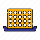 bingo, entertainment, gambling, game, numbers icon