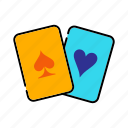 bet, card game, casino, gambling, poker icon