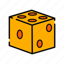 casino, dice, game, gamling, luck icon