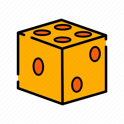casino, dice, game, gamling, luck icon