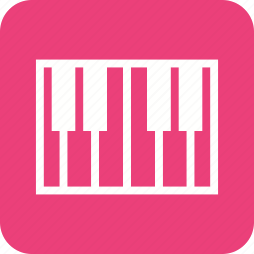 classical, fashion, instrument, keyboard, keys, music, piano icon