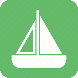 boat, paper, sailboat, ship, small, toy, yacht icon