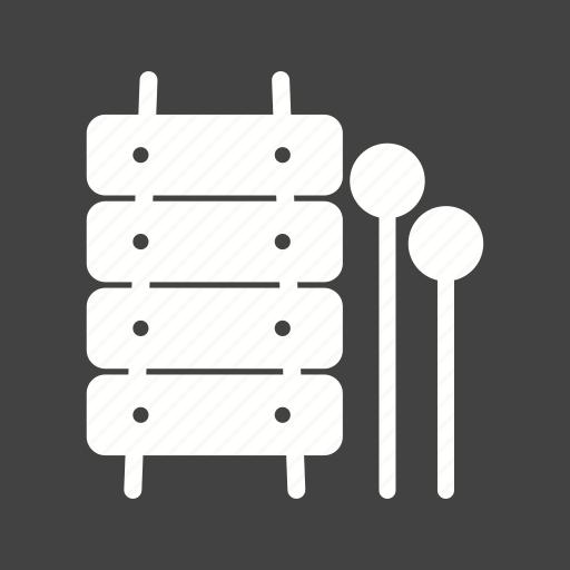 fun, instrument, music, toy, toys, wood, xylophone icon