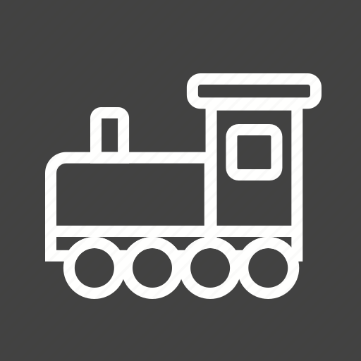 child, play, red, toy, train, wood, yellow icon