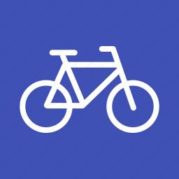 bicycle, bike, chain, frame, pedal, seat, wheel icon