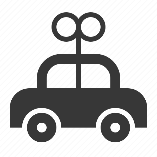bauble, car, game, plaything, toy, toy car, wind up car icon