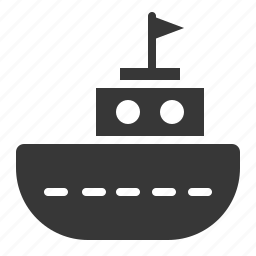 bauble, game, plaything, ship, toy, toy ship icon