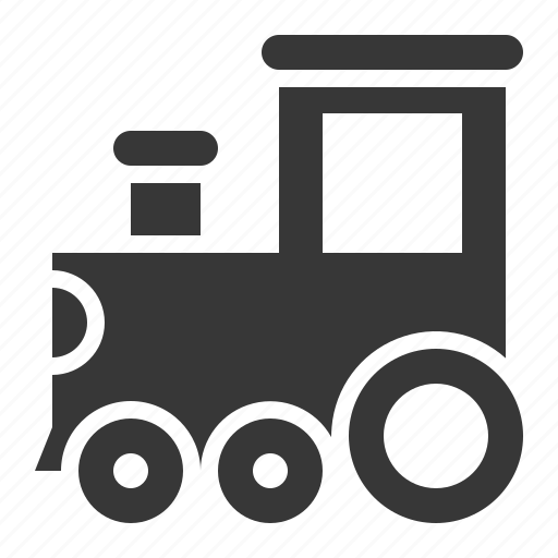 bauble, game, plaything, toy, toy train, train icon