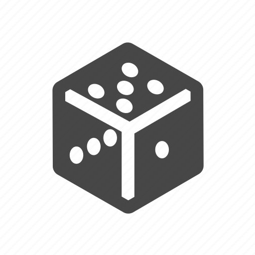 casino, dice, gambling, game icon