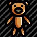 baby, bear, child, kid, play, teddy, toy