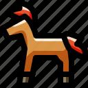 animal, baby, child, horse, kid, pony, toy
