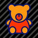 bear, doll, toy