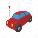 automobile, car, cartoon, speed, toy, transport, vehicle icon