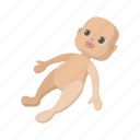 baby, cartoon, child, childhood, doll, play, toy icon