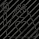 apron, baby, bib, chef, infant