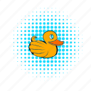 bath, bathtub, child, comics, duck, pets, toy icon