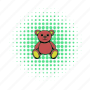 animal, bear, brown, childhood, comics, teddy, toy icon