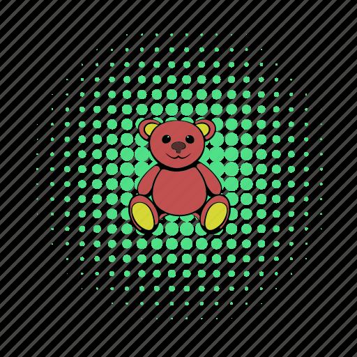 animal, bear, brown, childhood, comics, teddy, toy icon
