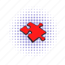 comics, idea, jigsaw, match, part, piece, puzzle icon