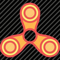 child, fidget, game, kid, play, spinnner, toy icon