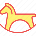 child, game, horse, kid, play, toy icon