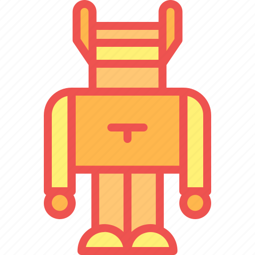 child, game, kid, play, robot, toy icon