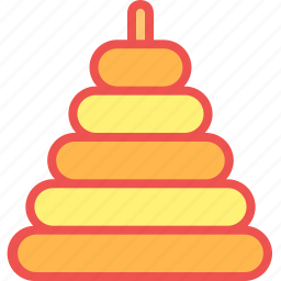 child, game, kid, play, stacker, toy icon