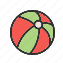 ball, beach, game, play, sport, tennis, yellow icon