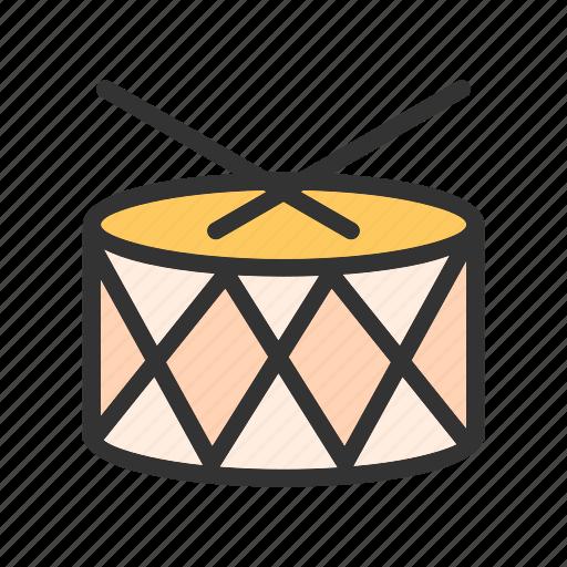 bass, drum, drummer, instrument, musical, roll, set icon